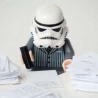 Life of a lego stormtrooper