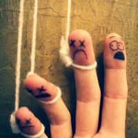 Funny/Creepy Finger Art