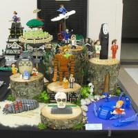 Miyazaki's World in Legos (Studio Ghibli)