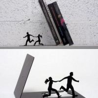 Funny book end