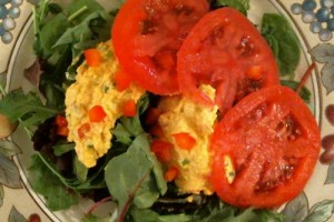 Egg-Less Egg Salad:  Mindful Meals Review