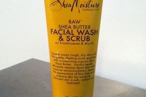 Shea Moisture Raw Shea Butter Facial and Scrub Review