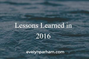 14 Lessons I Learned in 2016