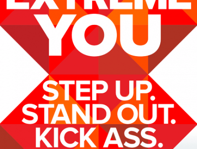 Extreme You: Step Up. Stand Out. Kick Ass. Repeat. (Book Review)
