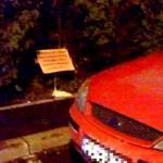 masina mesaj parcare