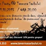 taverna sarbului - halloween - NEWSLETTER