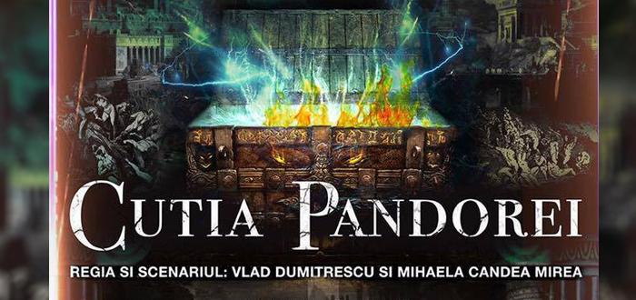 "CUTIA PANDOREI, pe scena ""Oleg Danovski"""