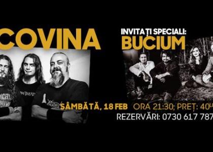 Concert caritabil! BUCOVINA şi BUCIUM, la Club Phoenix