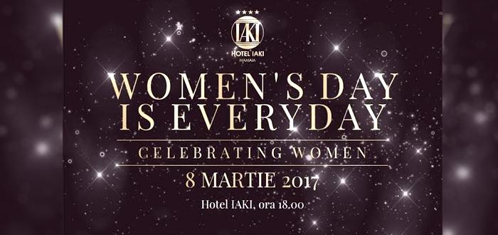 Petrecere de 8 Martie. CELEBRATING WOMEN, la Hotel IAKI!