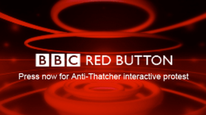 Interactive protest only on the BBC
