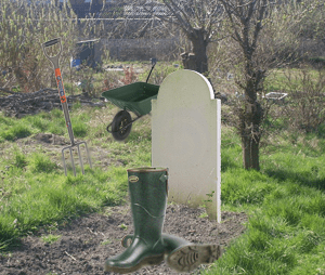 Allotment take-up is a grave business