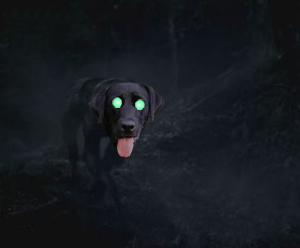 Beast of Harold  (artist's impression)