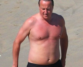 Fat Dave utilising his right to cause offence