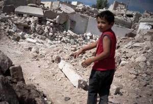 boy rubble