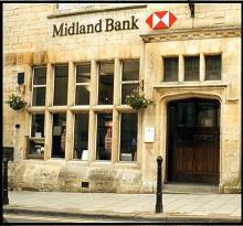 Bank, became a launderette, now a pound shop.