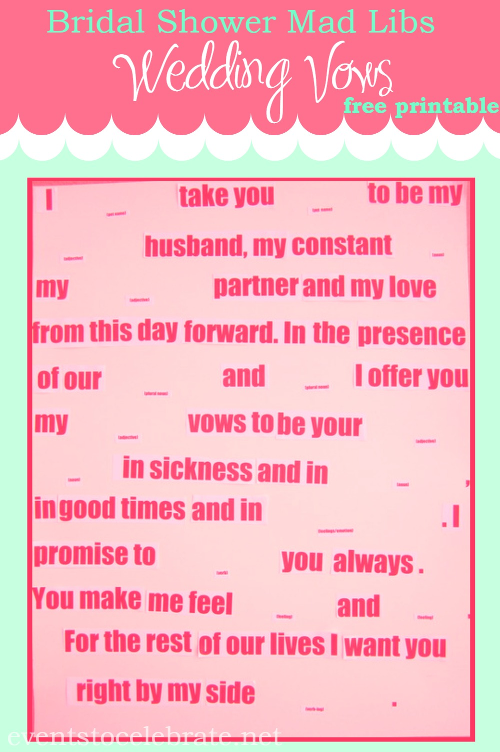 Fullsize Of Wedding Mad Libs