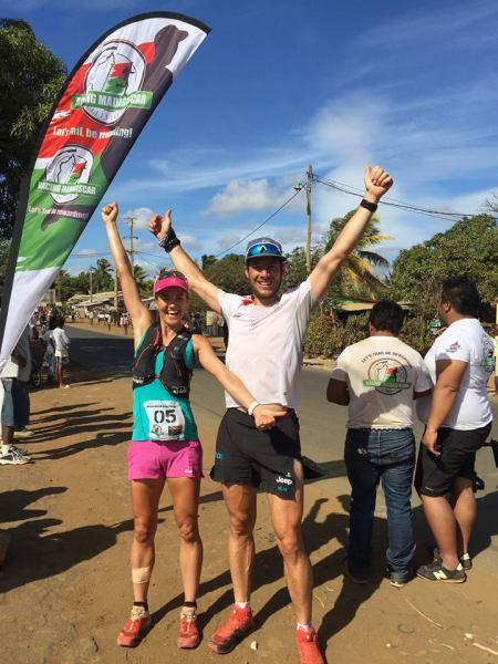 landie and christiaan _ madagascar finish
