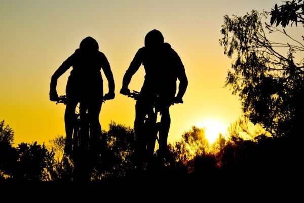 Riding into the sunset in one of South Africa's true wilderness areas is one of the factors which sets the Trans Baviaans apart. Photo by Peter Kirk Media.