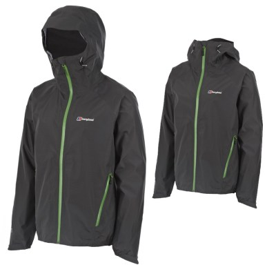 Berghaus Voltage jacket, with hood up and hood down