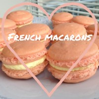 Mango French Macarons