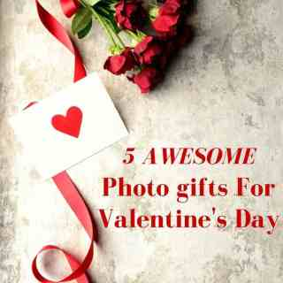 Looking for different and unique Valentine's Day gifts? Check out these 5 awesome photo gifts for Valentine's Day.