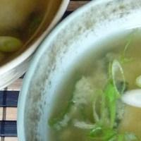 Tofu Wakame Miso Soup and Dashi, Too