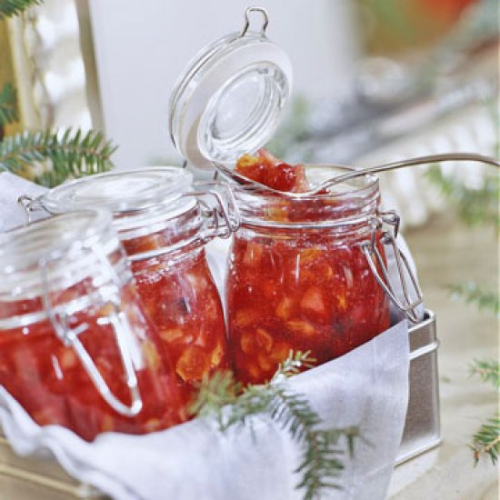 Christmas Cranberry Chutney | The Everyday Home | www.everydayhomeblog.com