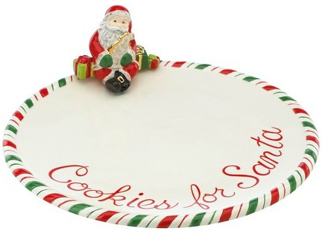 Cookies for Santa Plate | The Everyday Home | www.everydayhomeblog.com