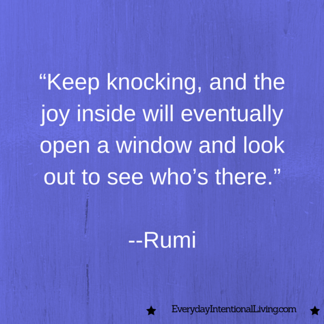 Thought for the Day: Rumi