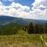 Hiking the Colorado Rockies near Vail
