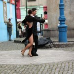 Tango on the street in Buenos Aires