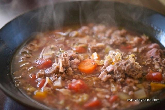 Paleo Kitchen Sink Soup