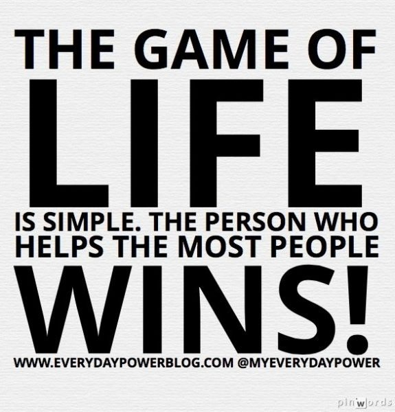 most people wins Life Is Simple!