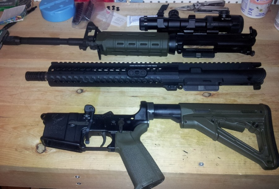 AR15 Uppers and Lower
