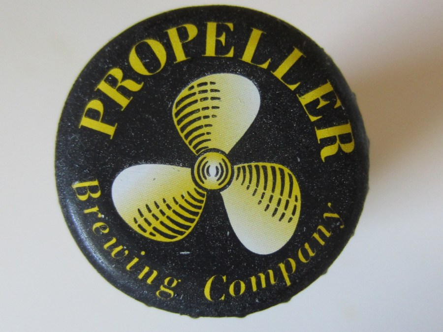 Propeller IPA bottle cap