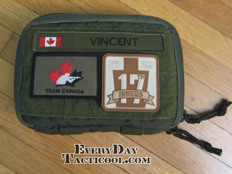 Tactical Tailor Admin Pouch Enhanced closed