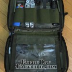 Tactical Tailor Admin Pouch Enhanced open