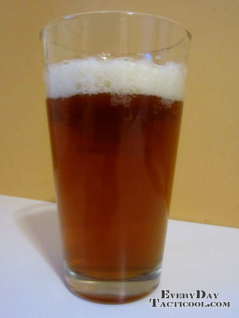 Great Lakes Brewery Pumpkin Ale poured