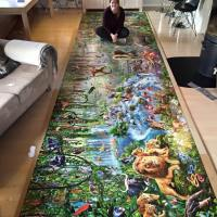 Woman finishes world's largest jigsaw puzzle with 33,600 pieces