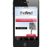 mobile shopping TheFind