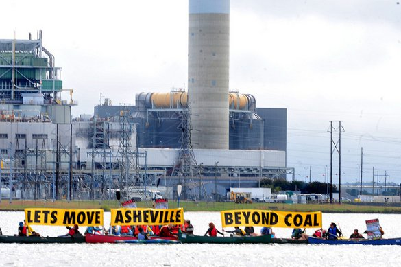 Asheville against coal