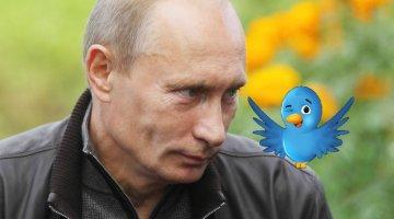 Putin winning on Twitter