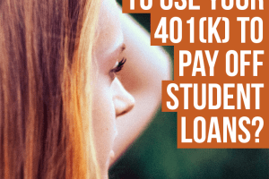 Does it ever make sense to use your 401(k) to pay off student loans? Before making a decision, look at all the factors as there can be severe consequences.