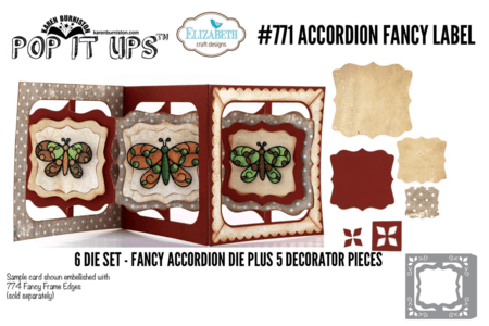 Accordian Fancy Label #771