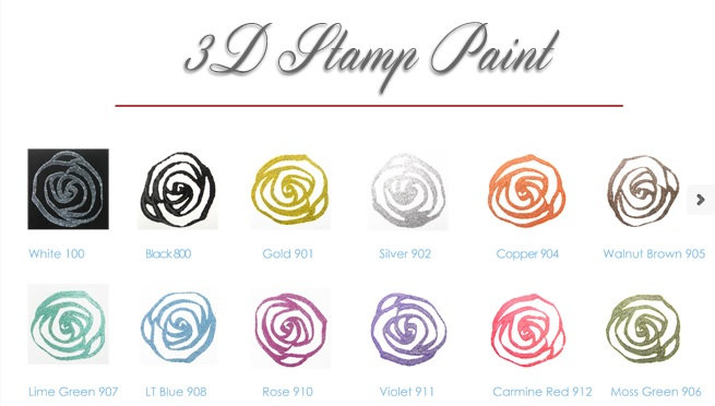 3d Stamp Paint Colors