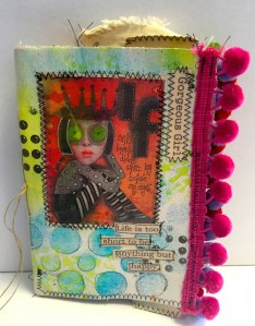 Dyan Reaveley - Stitched Canvas Journal