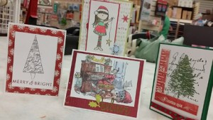 Holiday Card FRENZY @ Everything Scrapbook & Stamps | Lake Worth | Florida | United States