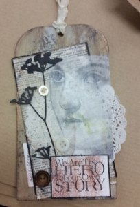 Mixed Media Tags @ Everything Scrapbook & Stamps | Lake Worth | Florida | United States