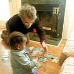 Adanna-Darren work on puzzle