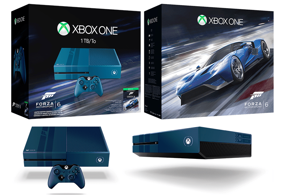 limited edition forza motorsport 6 1tb xbox one announced. Black Bedroom Furniture Sets. Home Design Ideas